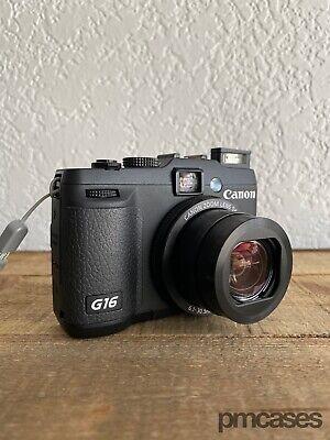 Genuine Canon PowerShot G16 12.1MP Digital Camera RAW WiFi