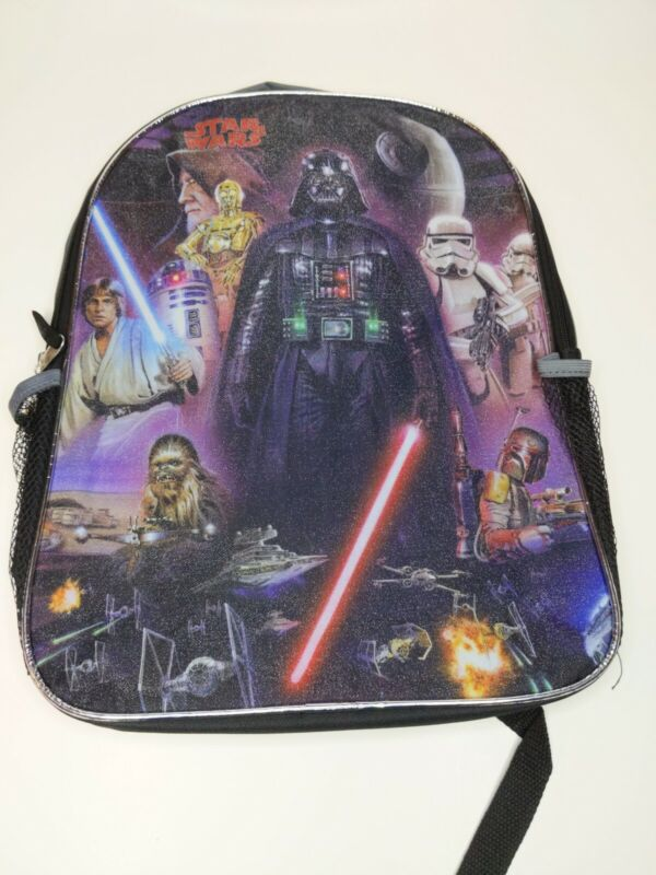 Disney Star Wars Backpack Darth Vader Storm Troopers jediBackpack. New with tags