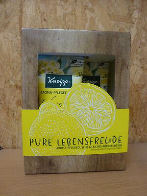 Kneipp Geschenkpackung Pure Lebensfreude, Pflegedusche und Körperlotion