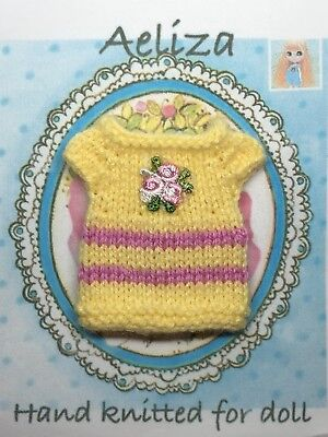 Blythe Doll  clothe Knitted Top