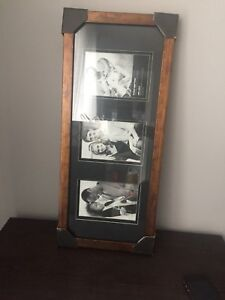Picture frame - 3 pictures - 4x6 each