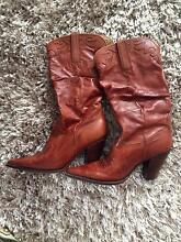 Top Quality Leather Cowgirl Boots Coolangatta Gold Coast South Preview