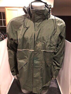 - 3910JB-L Size L Viking Mens Black 300D Trilobal Rip-Stop Polyester Waterproof Breathable Breathable Rain Jacket