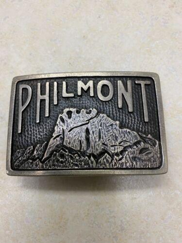 Philmont Sterling Belt Buckle