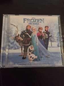 Frozen Disney The Songs Read along Story book and CD english