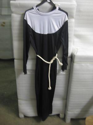 COSTUME SUORA SUORA costume costume di CARNEVALE CARNEVALE per uomo o donna