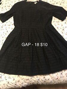 Woman's dresses size 14-18