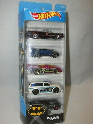 New!! Hot Wheels Batman 5 Pack * 1/64 Scale * FREE SHIPPING!!