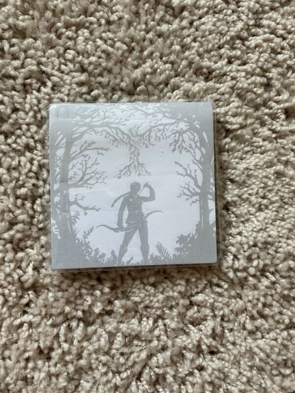 NEW LitJoy Crate Hunger Games Inspired Katniss Sticky Notes