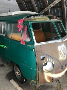 Vw 65 bus split window, westfalia, walk thru
