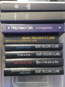 Livres collection Mary Higgins Clark
