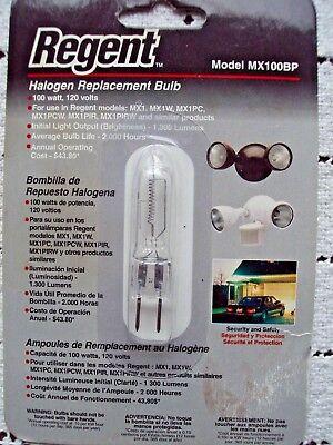Regent Halogen Replacement Bulb MX100BP 100 Watt 120 Volts PN 200-0287 NEW