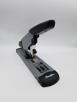 Swingline Deluxe Heavy Duty Stapler 160 Sheet Paper Thick Capacity Black Used