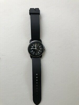 Black Victorinox Swiss Army Men's Watch - Military Style - Needs  Battery