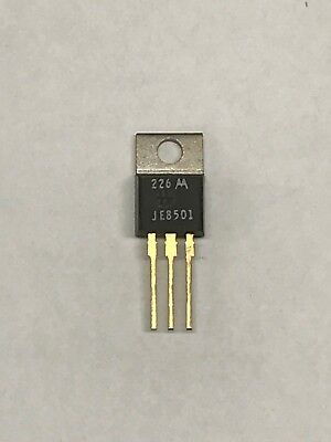 Motorola Mje8501 Silicon Npn Power Transistor 800v 5a 65w High-speed To-220 Gold