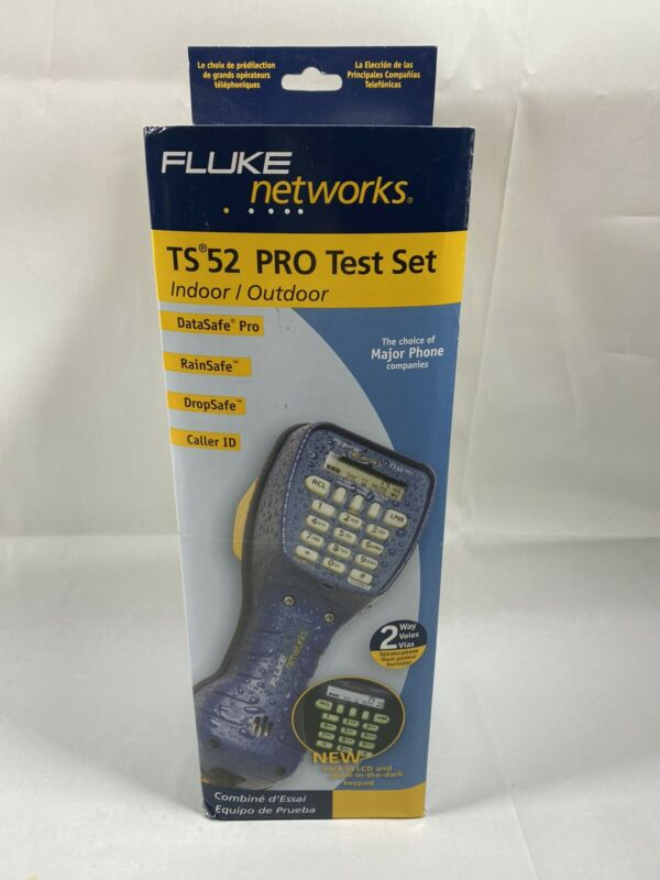 Fluke Networks TS52 Deluxe Test Set PRO 52801009 Brand NEW