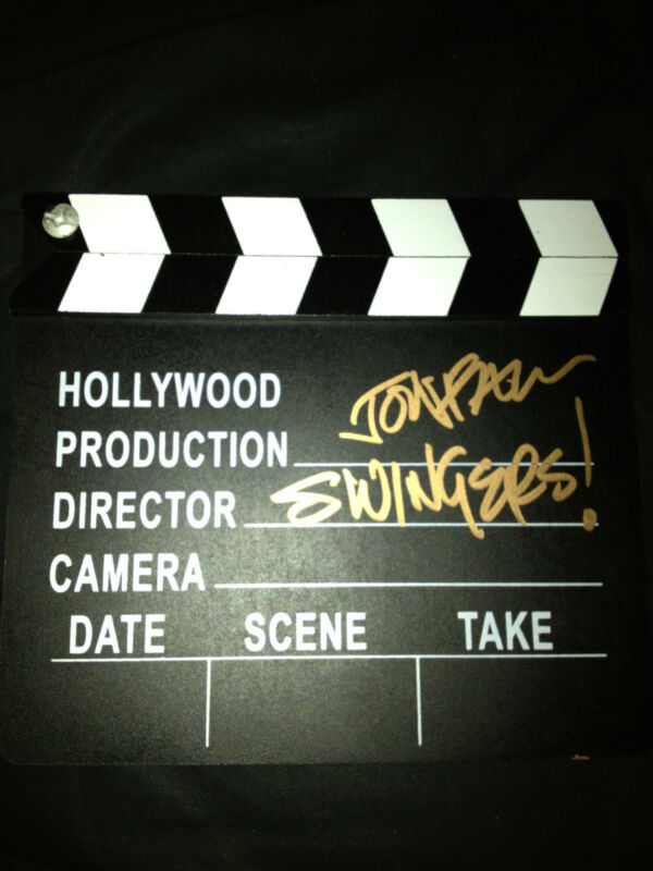 Swingers Jon Favreau Autographed Signed Hollywood Director Clapper COA
