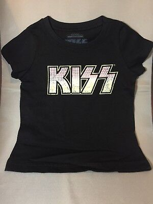 KISS Licensed Toddler 3T Shirt Rock and Roll All Night NEW