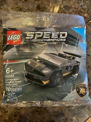 Lego Speed Champions #30342 Lamborghini Huracan Super Trofeo Set NEW poly Bag