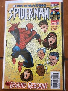 The Amazing Spider-Man 1st issue comic