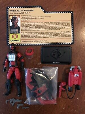 Gi Joe 2016 Collectors Club Joecon Convention Air Devil With Jetpack