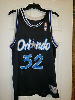 Vintage Champion NBA Orlando Magic Shaquille O'Neal #32 Jersey Size 44