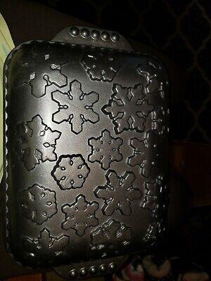 Nordic Ware Snowflake Pan Rectangular Non-Stick