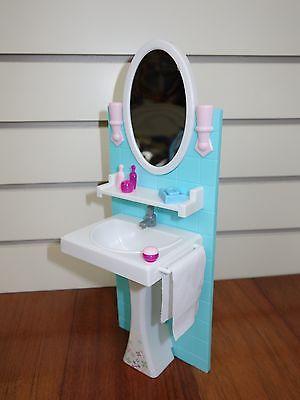 Gloria, Barbie Doll House Furniture /(2820)My Fancy Life Bathing Fun