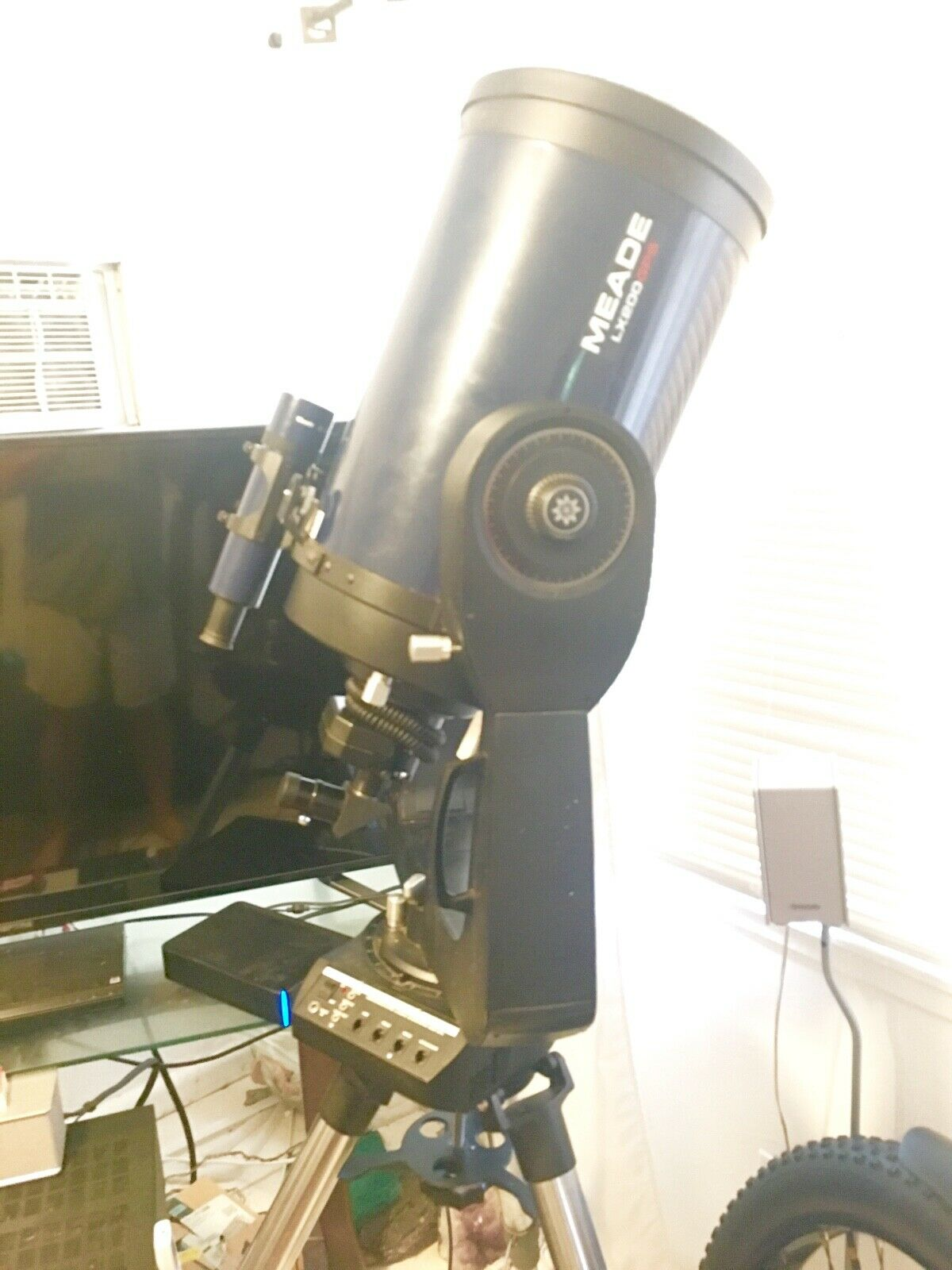 MEADE LX200 GPS 10 Telescope, Loaded, Shipping Box, Tripod, Micro Focuser - $2,399.00