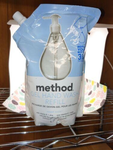 Method Gel Hand Wash 34 Oz Sweet Water