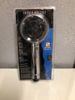 Deluxe Massage Flexible Mylar Hose Hand Held Shower Sprays Head - Flexible Shower Massage