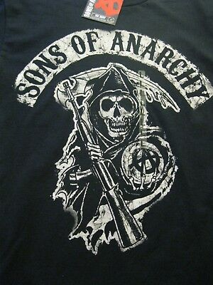 New   Road Gear   Sons Of Anarchy   Mens T Shirt    Medium