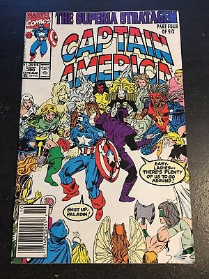 Captain America#390 Incredible Condition 8.5(1991) Multiple Female Villains!! - Female Villains Marvel