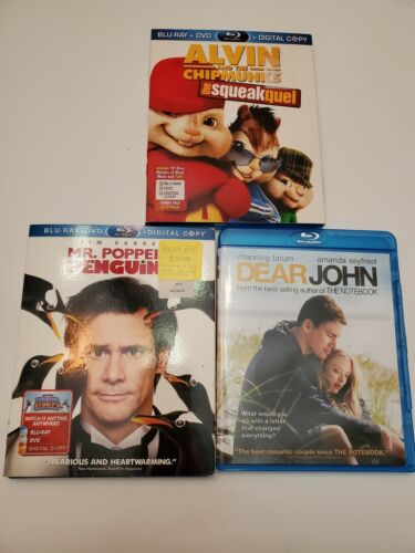 Blu Ray DVDs Lot Of 3 - $7.99