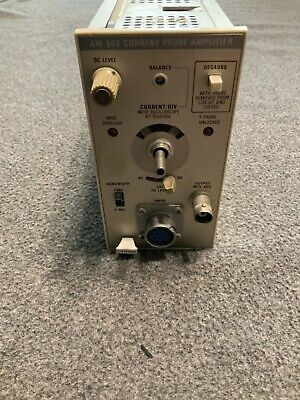 Tektronix Am503 Current Probe Amplifier Module Knob Is Missing