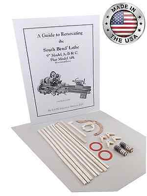 South Bend Lathe 9 Model A - Rebuild Guide Parts Kit Horizontal Drive