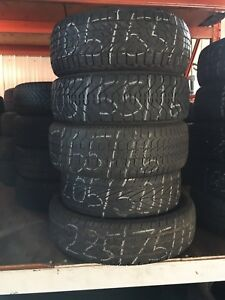 Various 16 inch tires, 205- 225