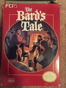 The Bard's Tale NES CIB