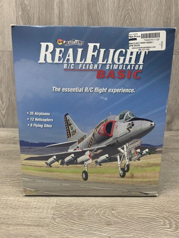Great Planes Real Flight Basic R/C Flight Simulator w/ Controller