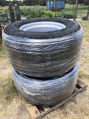 New Lsw570-648 Nhs Soft Turf 6 Ply On Fixed Steel Wheel