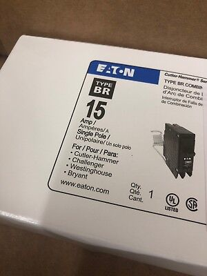 B1 Cutler Hammer Eaton Brcaf115 Arc Fault Afci Circuit Breaker New In Box