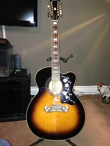 Limited Edition Epiphone 12 string guitar