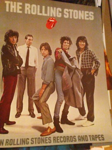 the Rolling Stones LIVE IN 75 CONCERT POSTER original only one avail!