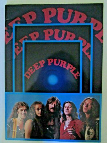 Deep Purple Come Taste the Band Japan 1976 Concert Program