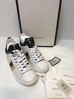 Gucci Ace Lace Trainers/pumps.uk 3/36.Fits Uk 4.£540.WORN TWICE