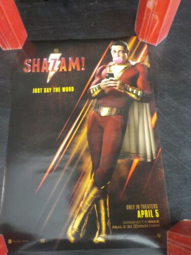 SHAZAM - Just Say the Word D/S Poster
