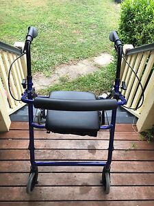 Elderly walker with wheels great condition Banyo Brisbane North East Preview