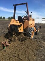 Trenching and Backhoe