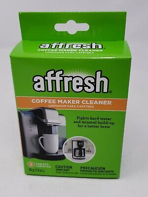 3-Pk Affresh Coffee Maker Brewer Cleaner, Mineral Build-Up - Keurig - Powerful