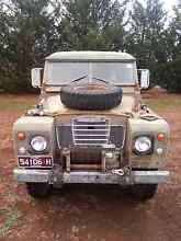 Army Land Rover GS 109 series 3 Castlemaine Mount Alexander Area Preview